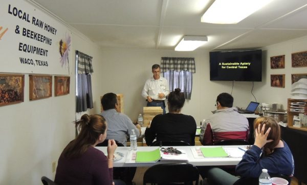 Indoor Session of Beekeeping Class