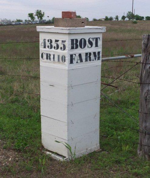 Bost Farm Entrance